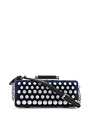 Tonda Embellished Clutch With Strap