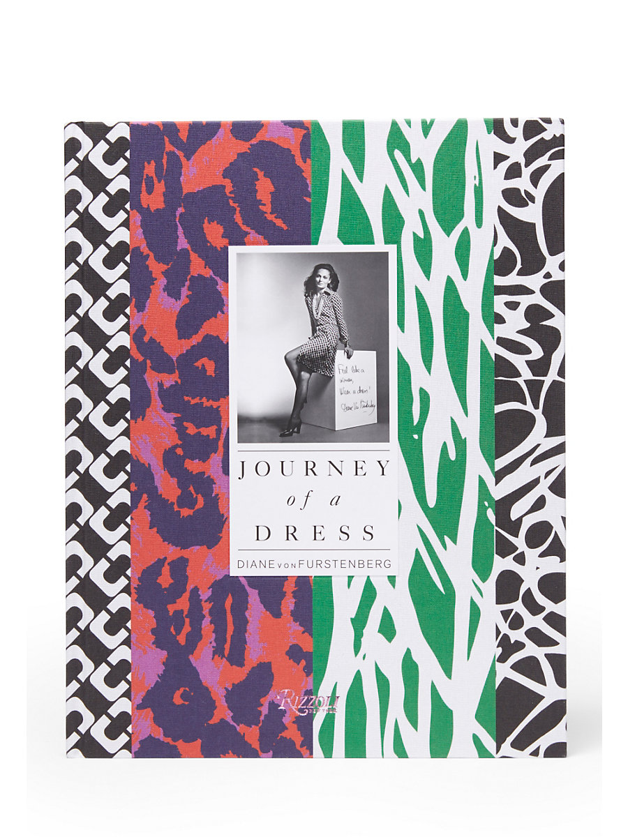 Journey Of A Dress Coffee Table Book, Signed Copy in Multi by DVF