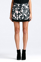 Elley Sequin Mini Skirt