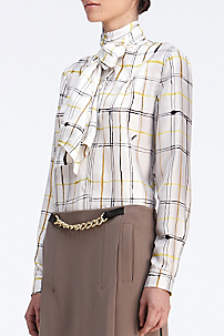 in Simple Plaid Golden