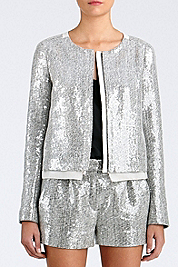 Tamali Crystal Sequin Jacket