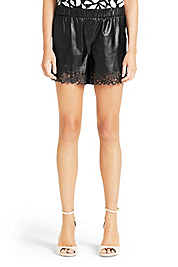 Andi Leather Short