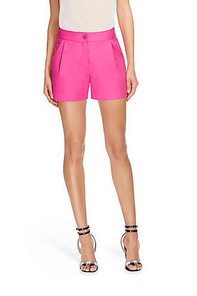 DVF Hattie Cotton Short in Hot Rose by DVF