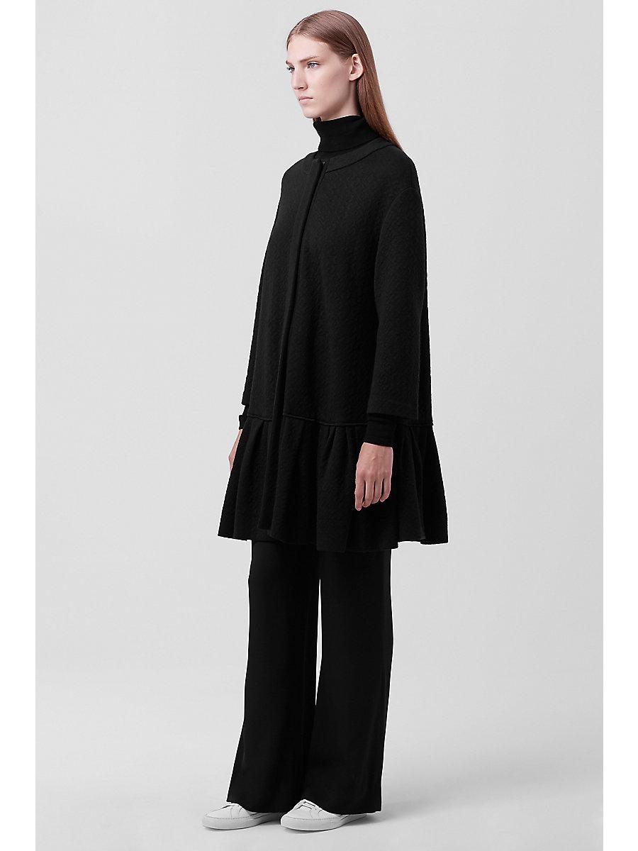 DVF BALLENCYA COAT in Black by DVF