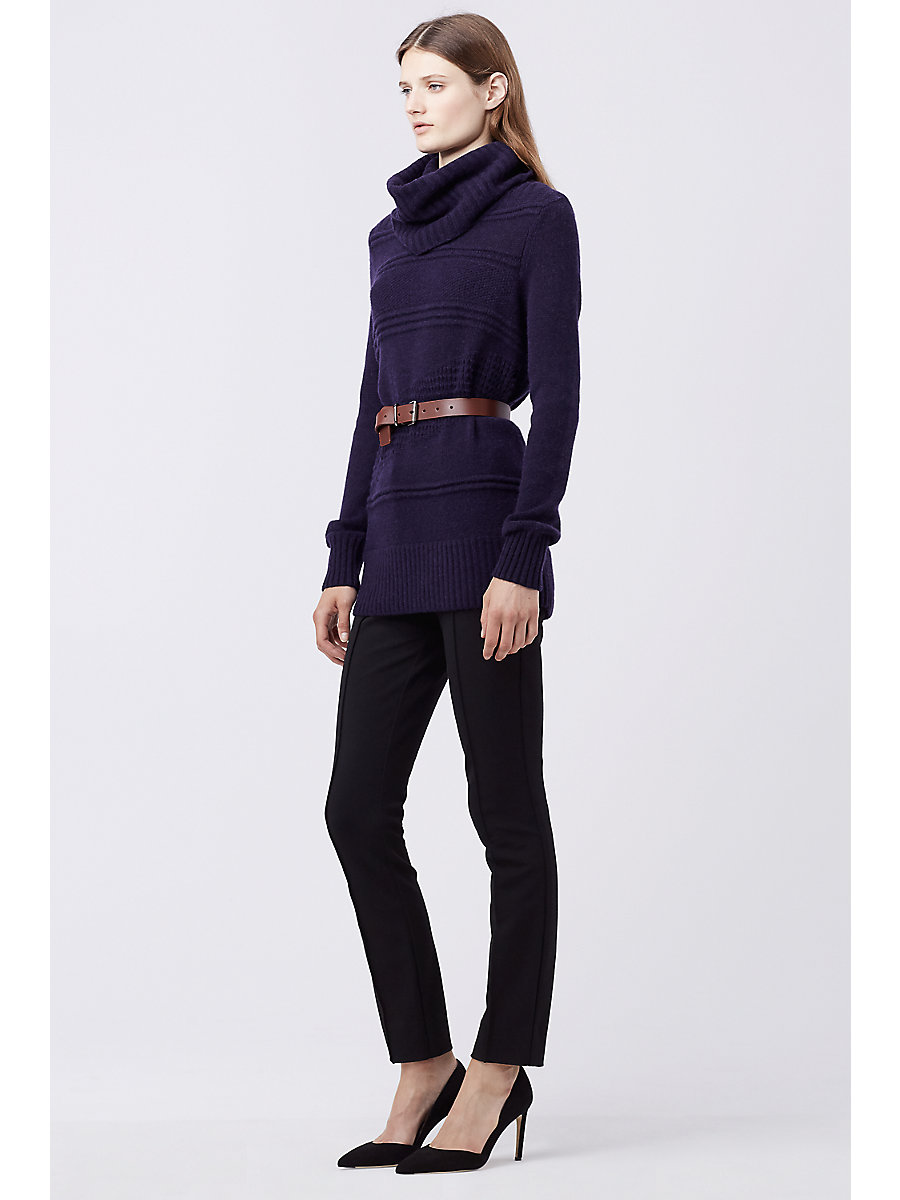 DVF TALASSA TURTLENECK SWEATER in Royal Navy by DVF