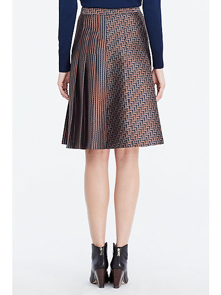 dvf pleated skirt landing pages by dvf