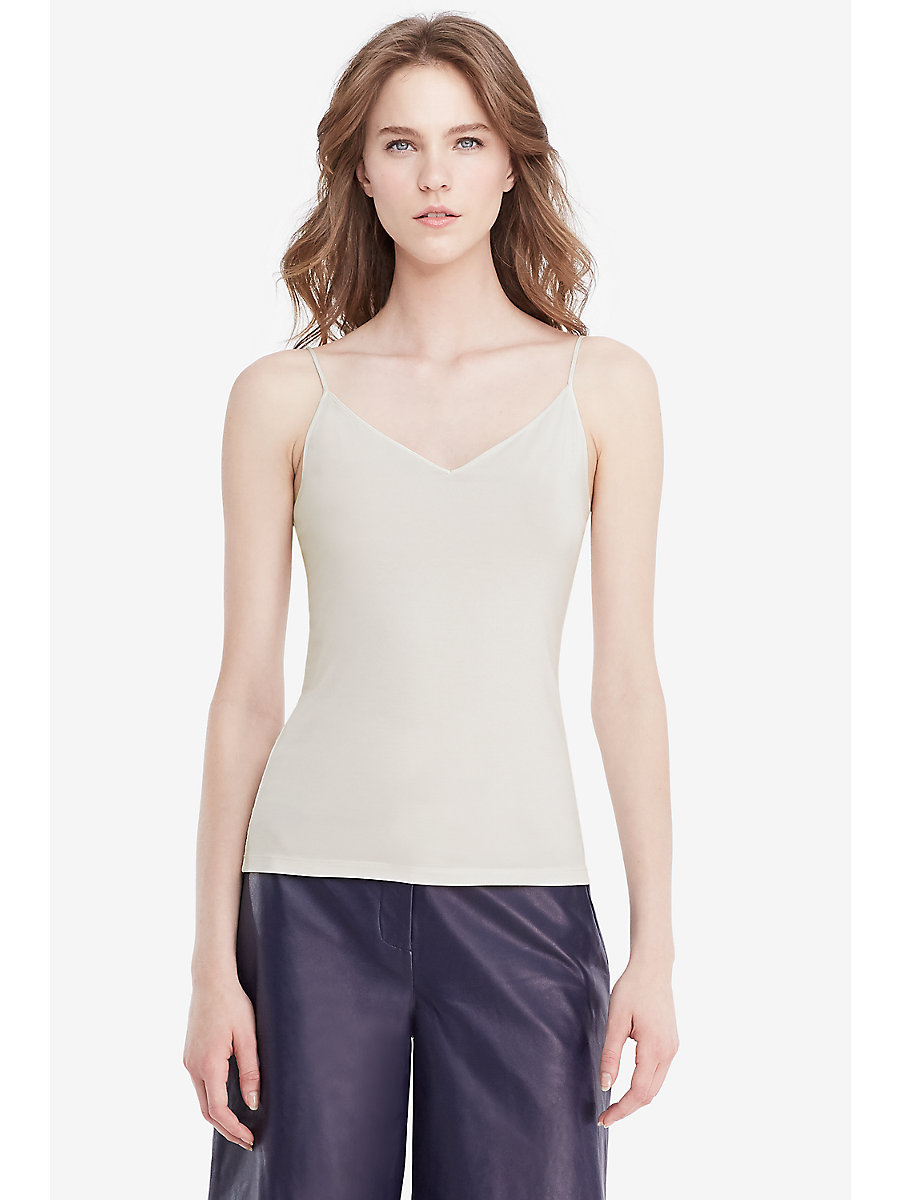 DVF Demi Camisole in Ivory by DVF