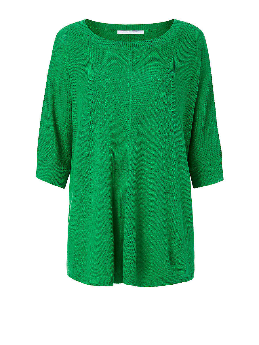 DVF Alycia Sweater in Paris Green by DVF