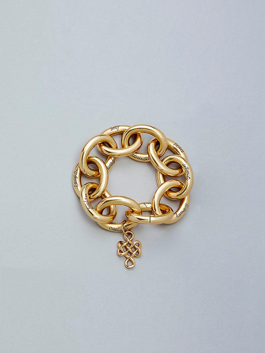 H-Stern Sutra Bracelet in Gold by DVF