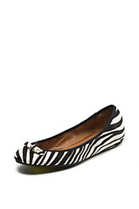 in Black/white Zebra Print Pony Haircalf