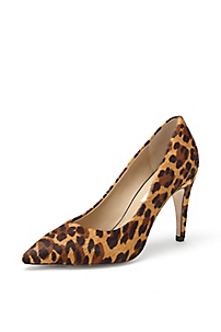 in Camel Leopard Haircalf Print