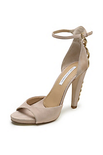 in Nude Suede