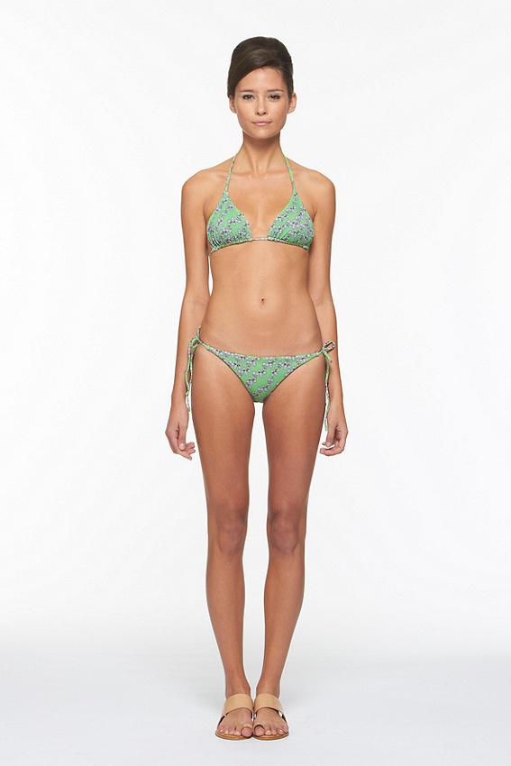 Deianira Printed Bikini Bottom