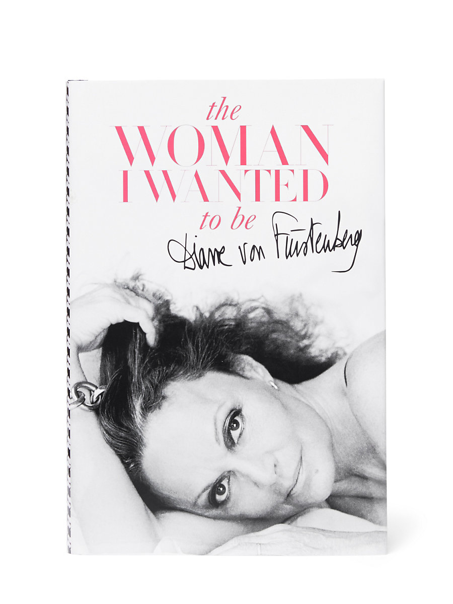The Woman I Wanted to Be Book, Signed Copy in Multi by DVF