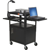Laptop Cart with Adjustable Shelves, B30395