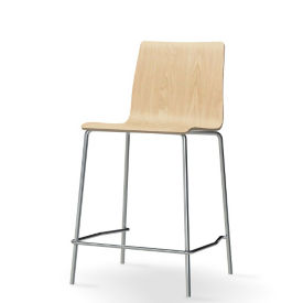 Laminate Half-Back Stool, K00091