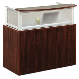 "Neoterik Collection Reception Desk- 48""W, D92227"