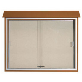 "Sliding Door Outdoor Message Center 36"" x 45"", B23202"