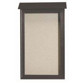 "1 Hinged Door Outdoor Message Center 42"" x 26"", B23206"