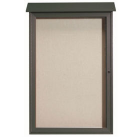 "1 Hinged Door Outdoor Message Center 48"" x 32"", B23207"