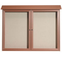 "Two Door Outdoor Message Center - 40"" x 52"", B23214"