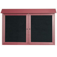 "2 Hinged Door Outdoor Message Center 30"" x 45"", B23215"