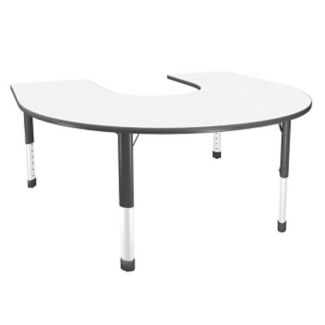 "Horseshoe-Shaped Activity Table - 60"" x 66"", A10027"