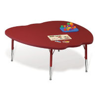 Apple-Shaped Activity Table, A10971