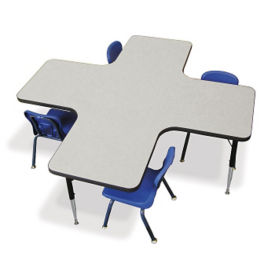 Cross-Shaped Activity Table, A10986