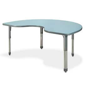 "Kidney Shaped ReMarkable Table - 36""W x 72""D, A11322"