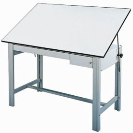 DesignMaster Four-Post Drafting Table, A11120