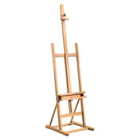 "Wooden H-Frame Easel - 20""W x 66""H, V21870"