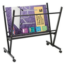 Mobile Steel Print Rack, V21872