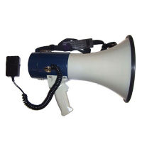 25 Watt Piezo Megaphone w/Mic, M10206