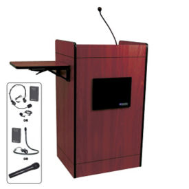 Ampli Media POD Podium with Wireless Sound, M10209