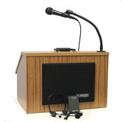 Wireless EZ Speak Folding Tabletop Lectern with Carrying Case, M13101