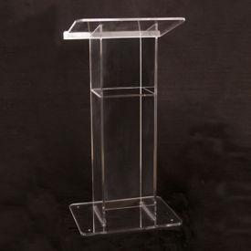 H Style Acrylic Lectern, M13207
