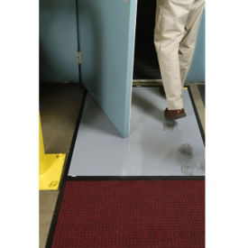 "Clean Stride Scraper Mat with Adhesive Insert 27"" x 64"", W60808"