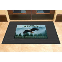 Customized Logo Mat - 6' x 6', W60796