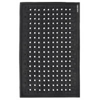 Rubber Anti-Fatigue Cushion Mat - 2' x 3', W60911
