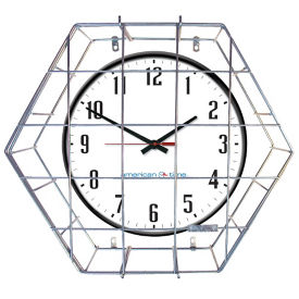 "Wall Clock with Battery Booster - 15"", V20145"