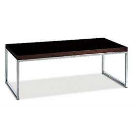 "Wood Veneer Coffee Table - 22"" x 44"", W60436"