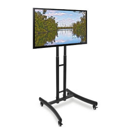"Height Adjustable Mobile TV Stand - 29""W, M10400"