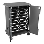 "16 Slot Laptop Storage Cabinet - 30.75""H, M16326"