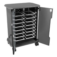 "16 Slot Laptop Storage Cabinet - 30.75""H, M16326-1"