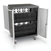 "32 Slot Tablet Charging Cart - 36.75"" H, M16328"