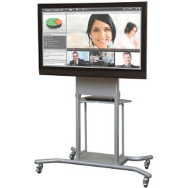"Mobile Mounting TV Cart - 72""H, M16329"