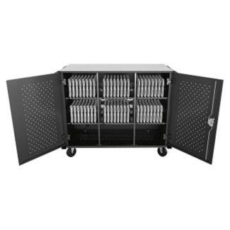 Lockable High Capacity Charging Cart - Unassembled, M16333