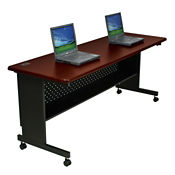 "Agility Mobile Flip Top Table 24""W x 72""D, T11325"