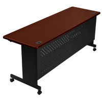 "Agility Mobile Flip Top Table 30""W x 72""D, T11327"